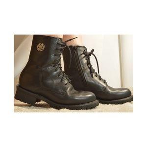Harley Davidson boots US 8.5 EU 39.5 black ankle